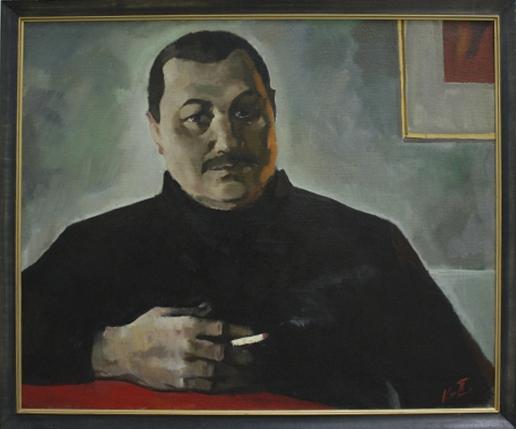 Павел Кичко. Портрет доктора Назарова. 2003. Из кол-ии А.Назарова