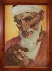 Павел Кичко. Портрет старика. Из кол-ии А.Назарова