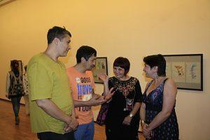 На открытии выставки (4)