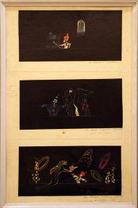 Виниамин Акудин. Эскизы кукол к спектаклям. (5)