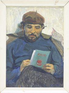 Александр Перов. Портрет художника Бабаева.