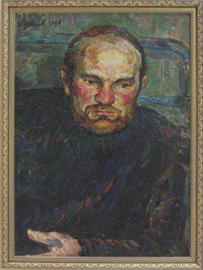 Александр Перов. Портрет художника Мельникова