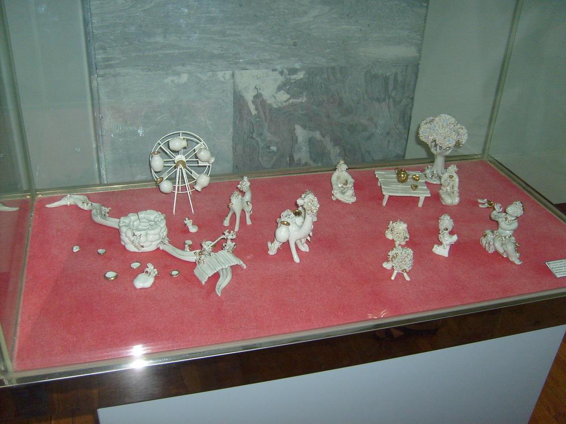 Мелкая пластика по фарфору от Шахноз Муминовой Композиция - Оазис. (ГМИ Уз)(ГМИ Уз)