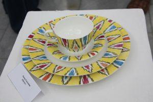 Римма Газалиева Авторская роспись по фарфору. Чайный набор -(3)