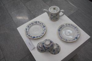 Римма Газалиева Авторская роспись по фарфору. Чайный набор (8)