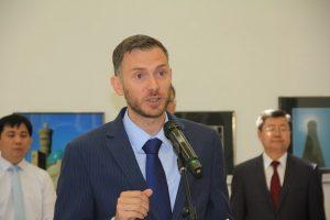 Чрезвычайный и Полномочный Посол Великобритании в Республике Узбекистане господин Кристофер Аллан