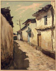 Дилором Мамедова. Улочки старого города