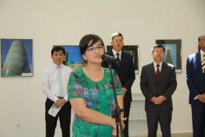 Главный ученый секретарь Академии художеств Узбекистана Феруза Абиджанова