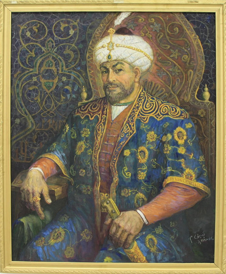 Набиев М. Амир Тимур на троне. 2004