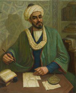 Набиев М. Портрет Аль Хорезми. 1982. (ДХВ)