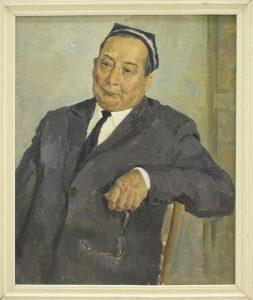 Набиев М. Портрет Хусанходжаева. 1976 (ДХВ)
