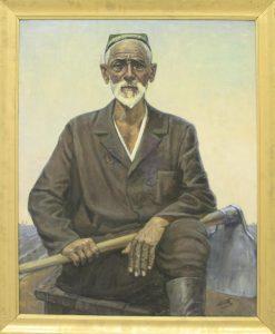 Набиев М. Портрет Мираба. 1989