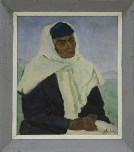 Набиев М. Портрет Мохии Ахмаджановой. 1996