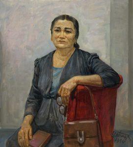 Набиев М. Портрет Мухитдиновой