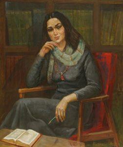 Набиев М. Портрет З.Ходжаевой
