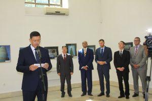 Речь председателя Совета обществ дружбы и культурно-просветительских связей Узбекистана Минхожиддин Ходжиметов