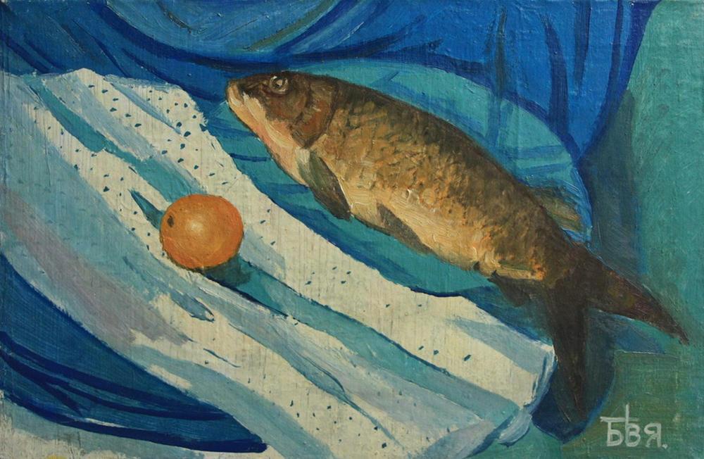 valentin-bizyaev-natyurmort-ryba-s-lukom
