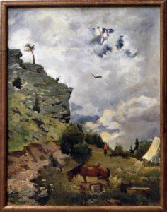 kuzybaev-nigmat-etyud-v-gorah-1957-dhv
