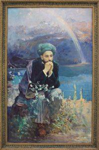 kuzybaev-nigmat-portret-furkata-1978-iz-sobr-ya-muzeya-instituta-yazyka-i-literatury