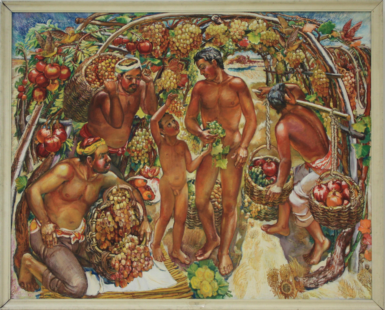 Чернухин Г. Урожай. 1988 (ДХВ)