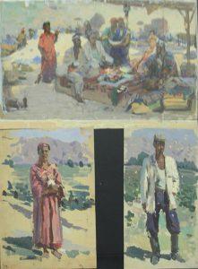 nechaev-vasilij-eskizy-k-kartinam-iz-semejnogo-arhiva