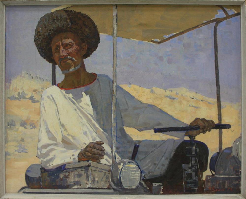 nechaev-vasilij-portret-brigadira-matchanova-1973-dhv