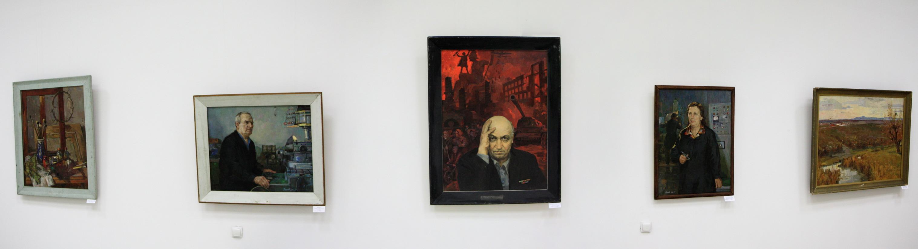 Пантюхин Павел, Экспозиция.