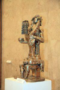 Баят Мухтаров. Молитва любви. Дерево металл.