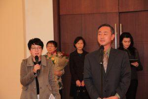 Открытие выставки. Слово ЧиП Посолу Республики Корея Квон Ён У