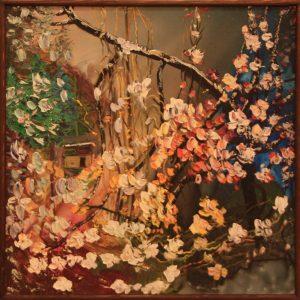 Шин И. Чимган. Снежные цветы. 2016.