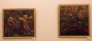Шин И. Экспозиция картин. 2016.