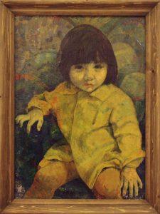 Шин И. Портрет Светланки -1. 1978.