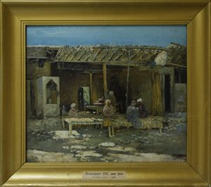 Zommer R.K. (1866 - 1939) Чайхана. 1892.