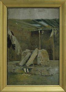 Zommer R.K. (1866 - 1939) Кладбище святого. 1897