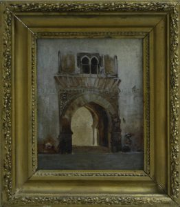 Zommer R.K. (1866 - 1939) Мавританские ворота.
