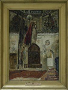 Zommer R.K. (1866 - 1939) Мавзолей Шахи - Зинда. (2)