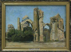 Zommer R.K. (1866 - 1939) Мечеть Биби -Ханым.