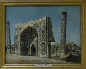 Zommer R.K. (1866 - 1939) Мечеть Улугбека.