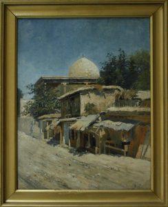 Zommer R.K. (1866 - 1939) Мечеть в Ташкенте.