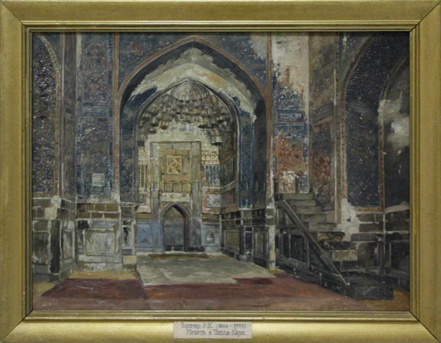 Zommer R.K. (1866 - 1939) Медресе Тилла Кори. (2)