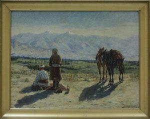 Zommer R.K. (1866 - 1939) Намаз.