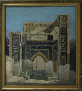 Zommer R.K. (1866 - 1939) Портал медресе Улугбека. (2)
