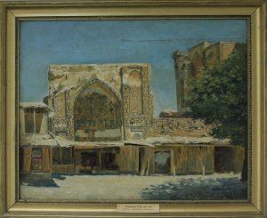 Zommer R.K. (1866 - 1939) Портал медресе Улугбека.
