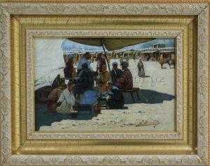 Zommer R.K. (1866 - 1939) Шашлычная
