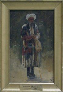 Zommer R.K. (1866 - 1939) Старик в чалме.