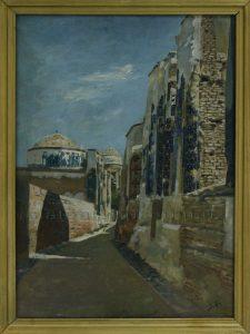 Zommer R.K. (1866 - 1939) Вход в Шахи Зинда.