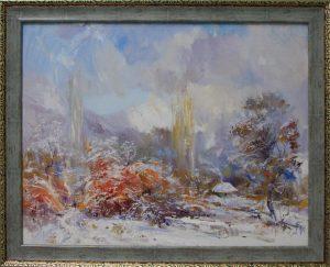 Енин Валерий. Первый снег. 2016