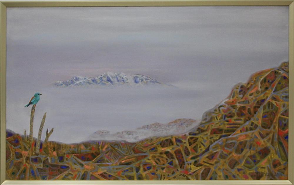 Фозилов М. Чимган в тумане. 2016