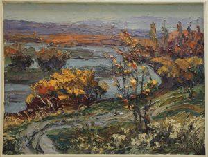 Мамедова Дилором. Осень в Чирчике. 2016