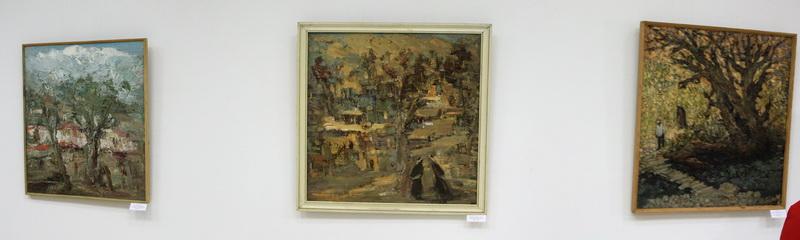 Экспозиция картин Р. Гаглоевой